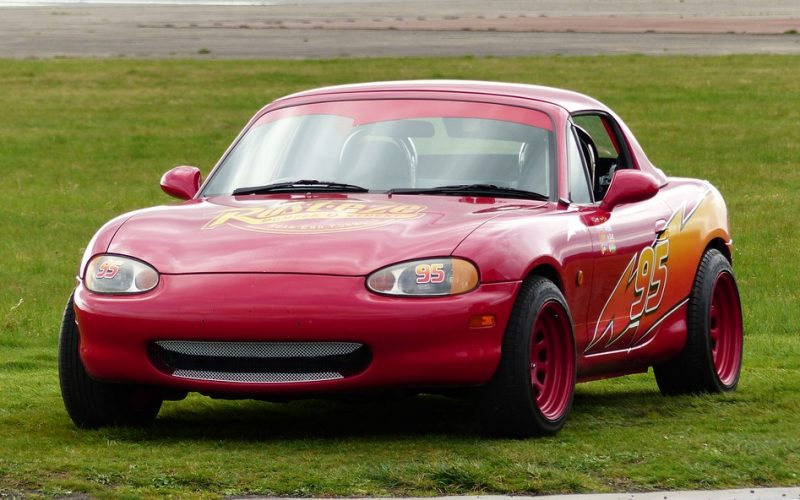 question what real life car is lightning mcqueen